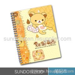 Lenticular Note Book