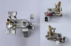 Bimetal thermostat for oven