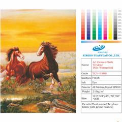 Art Canvas Flash Terylene