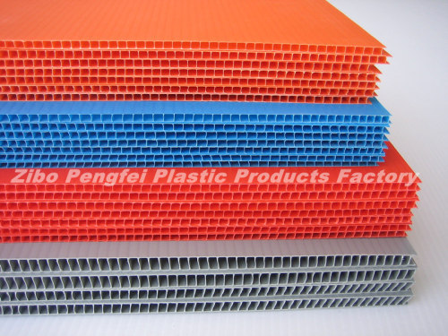 Water Proof Twin Wall PP Plastic Sheet Board