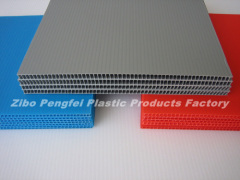 Multi-color Twin Wall PP Plastic Hollow Sheet Board