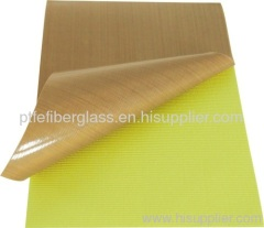PTFE Coated Fiberglass Silicone Adhesive Fabric