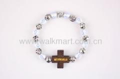 Wrist Bracelet with plastic bracelet