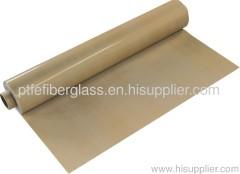High temperature PTFE coated Fiberglass fabric