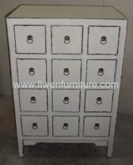 antique medicine white cabinets