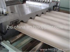 PVC wave plate production line