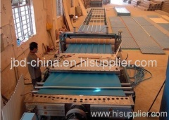 PVC trapezia-shape roof tile production line