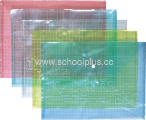 Promotional pp file bag for business and advertising