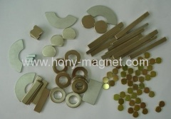 Disc sintered ndfeb magnet