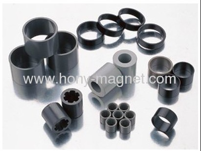 Ring bonded ndfeb magnets