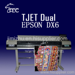 Inkjet printer with DX6 water base head