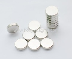 Sintered disc ndfeb magnet