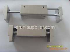 100mm distance pneumatic clamping claw with 2 claws