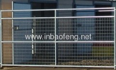 Electro Galvanized Welded Wire Fence Panels from China ...