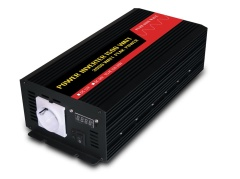 1500W european socket digital readout pure sine wave power inverter