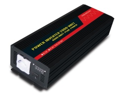 2000W european socket digital readout pure sine wave power inverter
