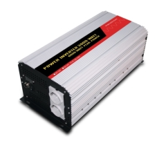 3000W european socket digital readout pure sine wave power inverter