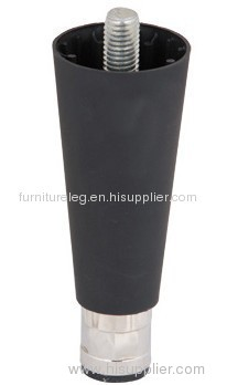 Black Nylon Adjustable Tapered Equipment Leg