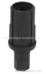 Plastic Adjustable Bullet Foot for 38mm Round Tube