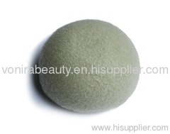 French Green Clay Sponge Puff