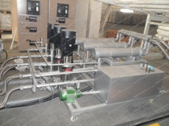 ABS/PMMA sheet extrusion line