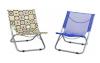 printed fabric portable beach chairs