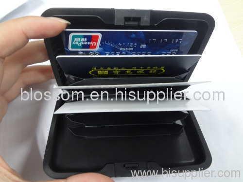 Metal name card or credit card holder