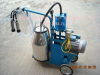 Mechanical moving single bottle cow milking machine 0086-13703827539