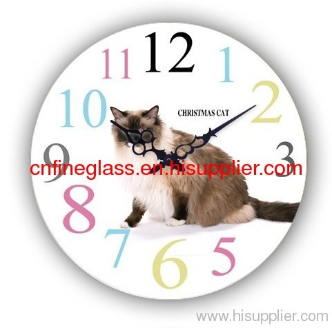 international stardard clock glass