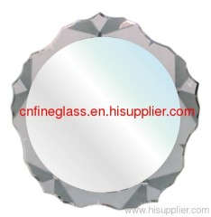 Mirror/glass with all shapes, edge working