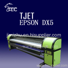 eco solvent printer dual epson dx5 3.2M inkjet digital printing machine