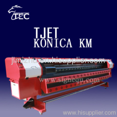 large format Konica 512 Head Solvent Printer
