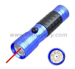 Laser flashlights