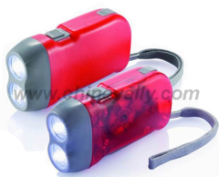 LED dynamo torch