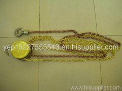 Antispark chain hoist ,safety hand tools , copper alloy material