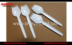 fork-spoon mould