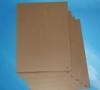 Supply China Cheap 100% Recycled Woop Brown/ White Kraft Paper for Packing and Shopping bag