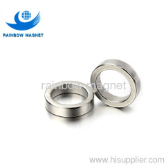 Sintered NdFeB magnet ring.Super strong permanent magnet