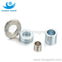 Permanent and powerful ring rare earth NdFeB magnets.