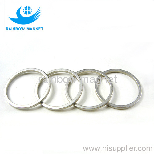 thinwall sintered NdFeB ring magnet.Neodymium magnet ring