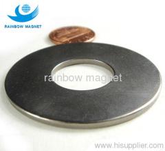 Permanent neodymium Iron Boron magnet ring