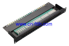 "19 ""1HE Cat.3 Sprach Patch Panel"