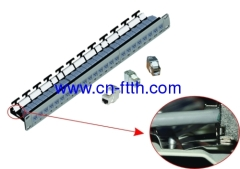 24 Port FTP Patch Panel for Keystone Jack