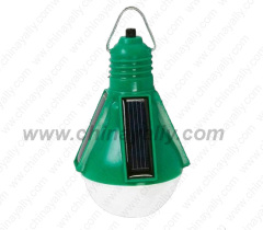 Portable solar bulb light