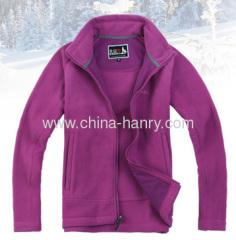 Womens Zip Up Fleece Jacket