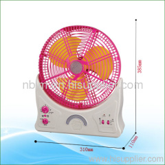 rechargeable mini table fan