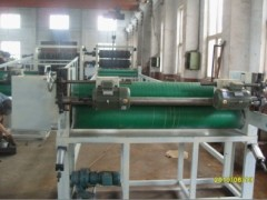 PVC decorative sheet extrusion machine