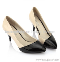 Pointy toe lady high heel dress shoes