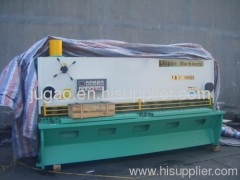 cnc hydraulic shear