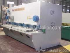 nc hydraulic shear machine